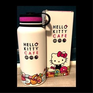 Hello Kitty Cafe-Stainless Steel 32oz Bottle